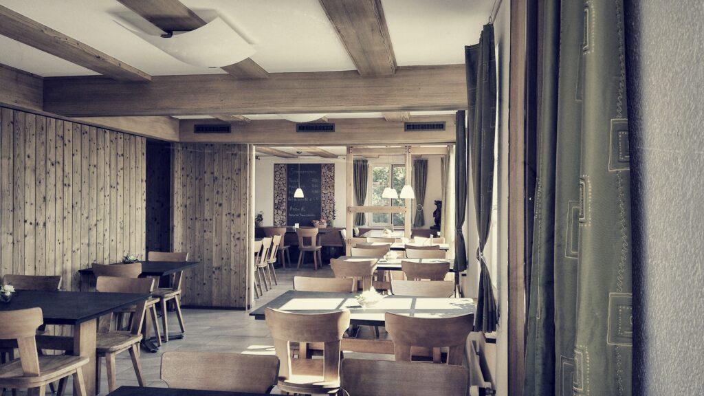 Innenräume Restaurant Diemerswil